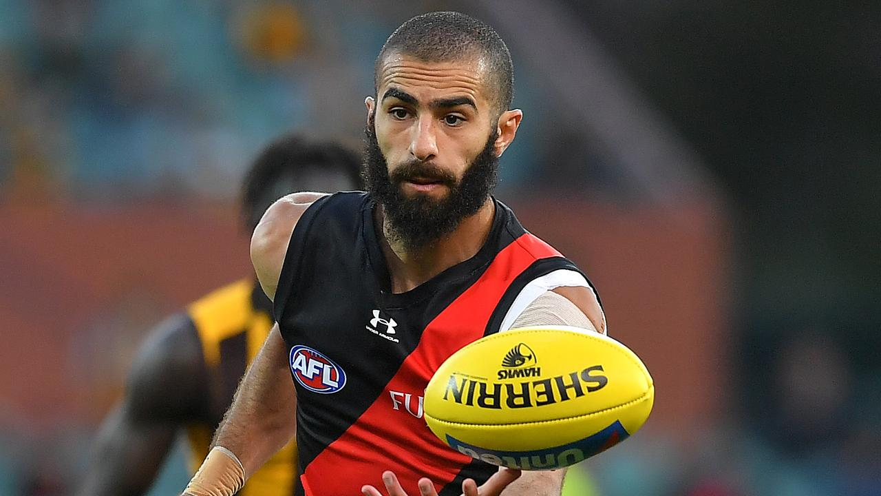 Adam Saad of the Bombers remains in limbo. Picture: Mark Brake