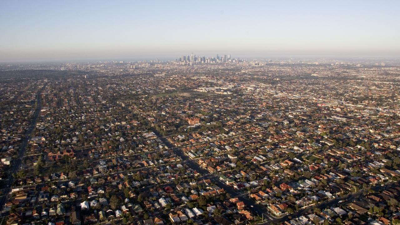 Estates in Melbourne's north were the next most affected, followed by the south east.