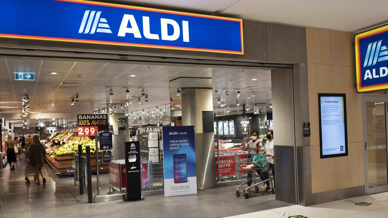 An Aldi spokesperson said they had not recieved any complaints from customers and were investigating how the ethylene oxide contamination occured. Picture: News Corp/Attila Csaszar