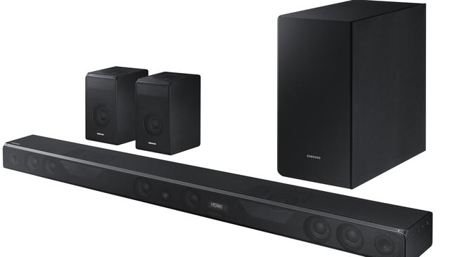 Samsung's HW-K950 Atmos soundbar is one of only two sound systems to support the Dolby Atmos format and has been critically acclaimed.