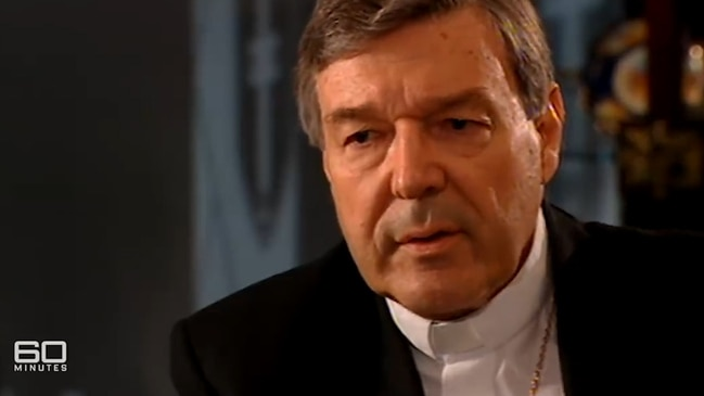 George Pell: 60 Minutes Interview Excerpt