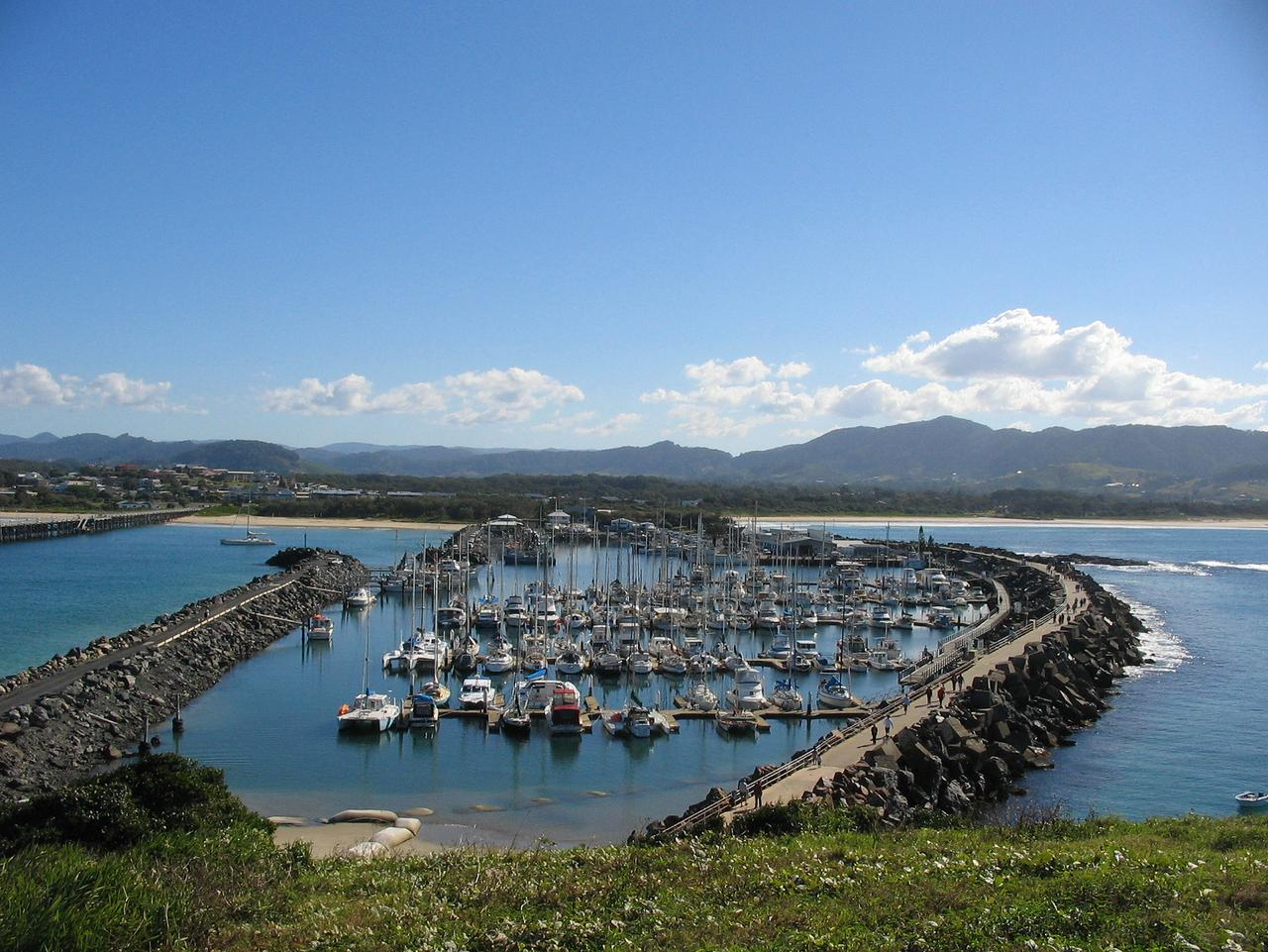 Coffs Harbour is a great place for a break from the car.