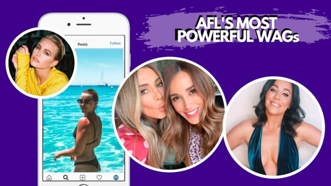 The AFL's most powerful WAGs