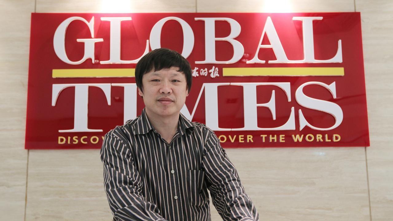 Hu Xijin, editor of the Global Times. Picture: Simon Song/South China Morning Post via Getty Images)