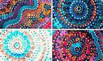 Make your own Aboriginal-inspired dot painting