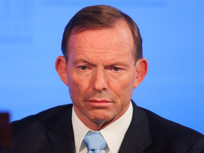 Speculation continues to swirl around Tony Abbott of a potential leadership challenge. Picture: Gary Ramage