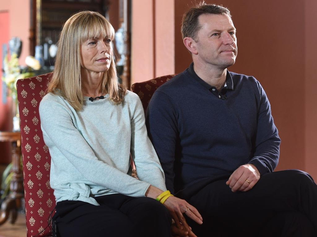 Gerry and Kate McCann are expected to be told in the coming days how their daughter died. Picture: Joe Giddens/AFP