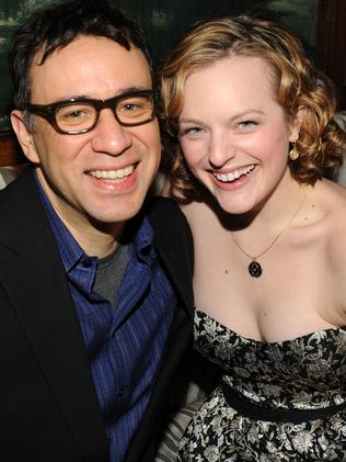Fred Armisen and Elisabeth Moss were married just eight months. Picture: Getty