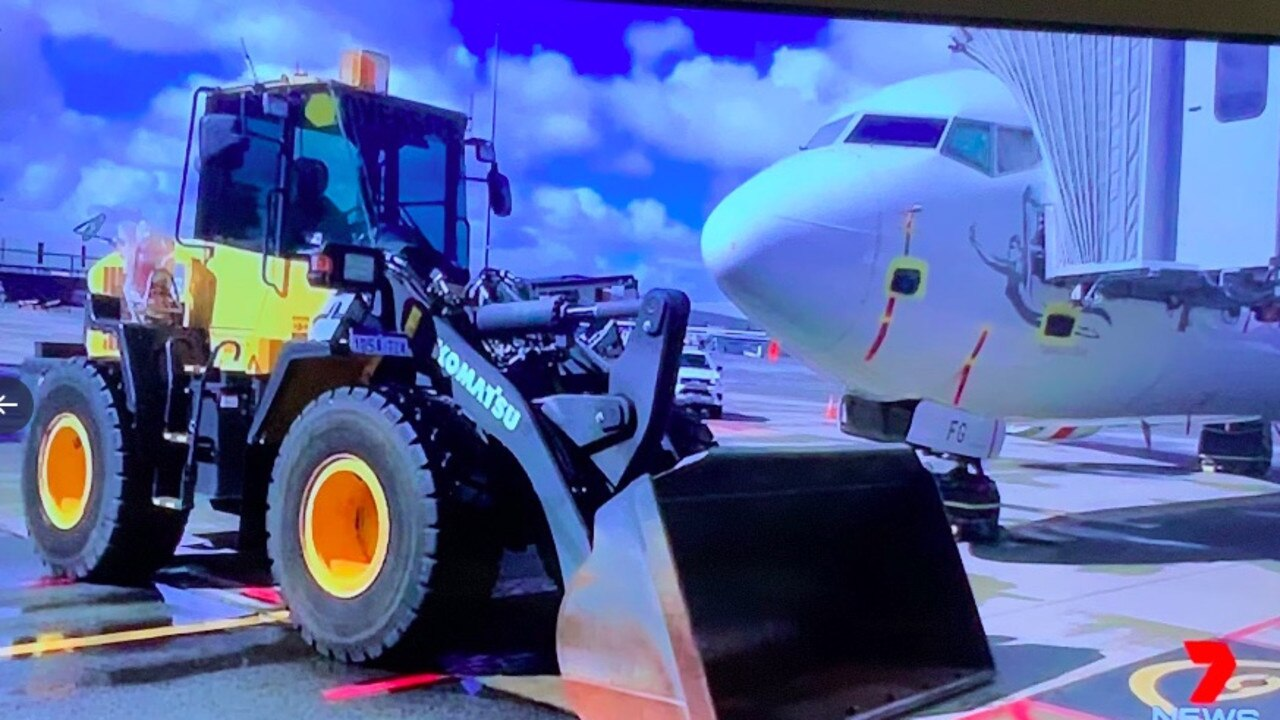 Perth Airport has seized a number of Virgin Australia aircraft.