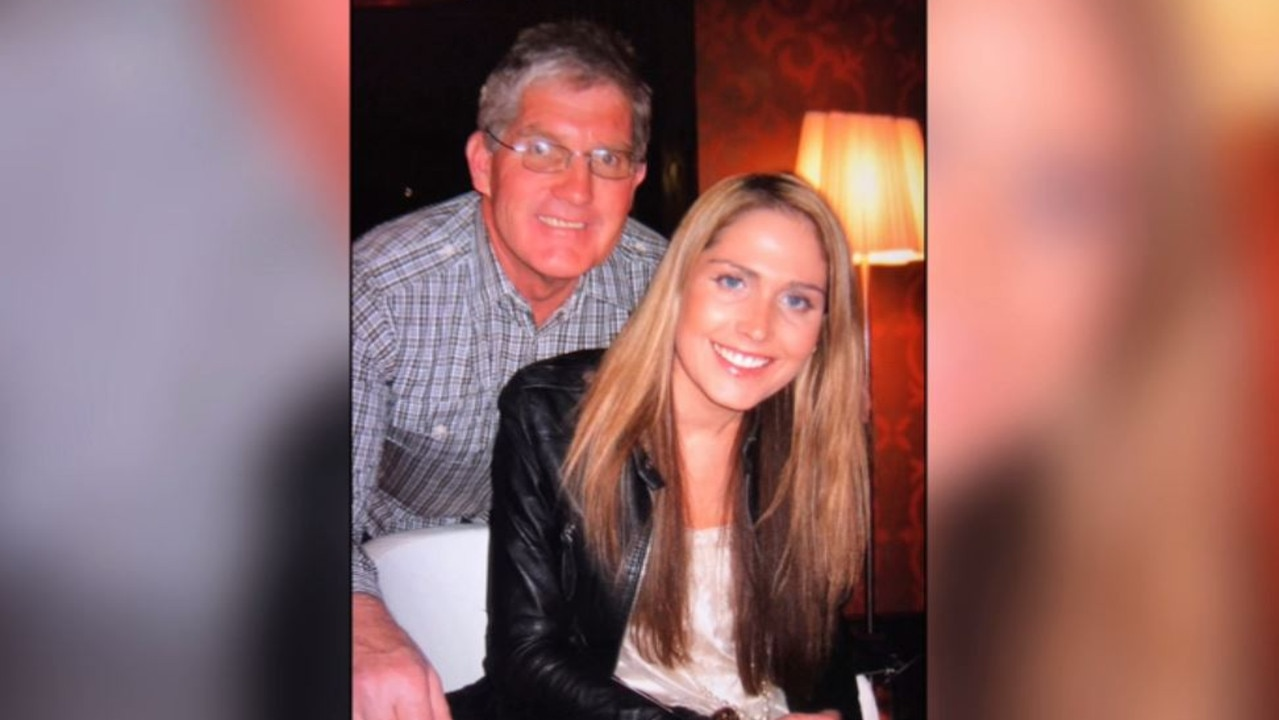 Merv Keane and his late daughter Emily.