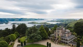 Larnach Castle, Dunedin, New Zealand credit: Tourism NZ  escape 18 april 2021 hotlist new zealand road trips