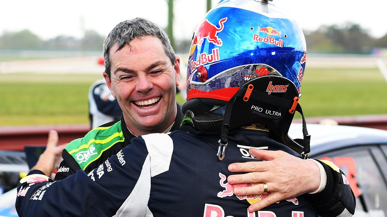 Craig Lowndes and Jamie Whincup will join forces in the endurance races in 2019. Picture: Getty Images