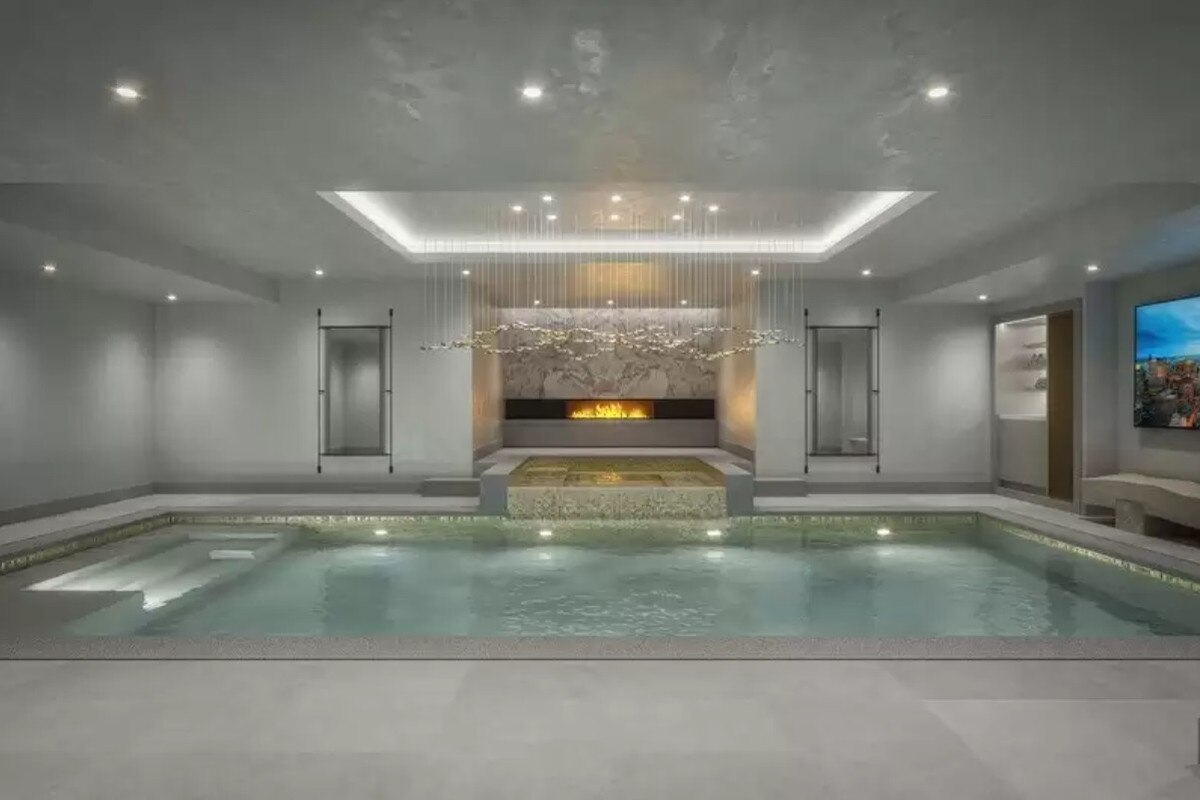 A large indoor pool meets spa area. Picture: Realtor