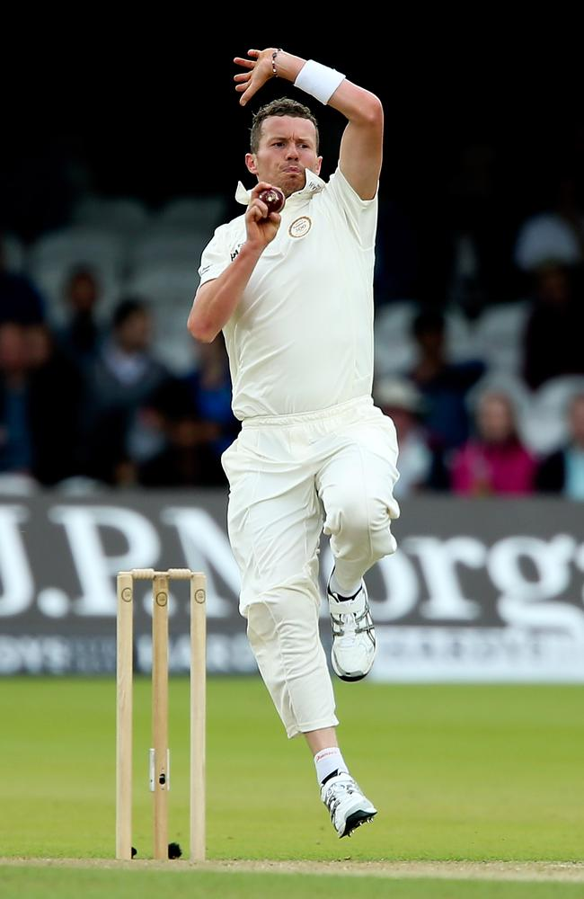 Paceman Peter Siddle is once again in Test contention.