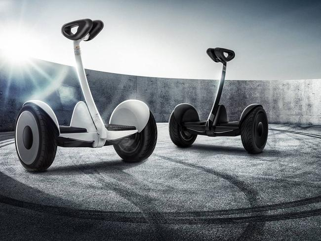 Smartphone maker Xiaomi is extending its reach. Above, the Ninebot Mini scooter from Xiaomi and scooter-making start-up Ninebot.
