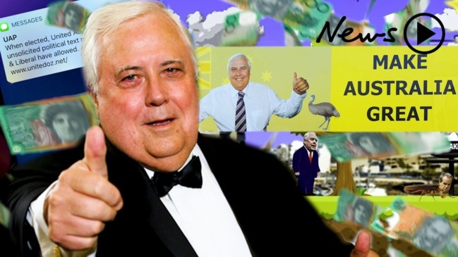 Clive Palmer – The bizarre $50 million federal election campaign