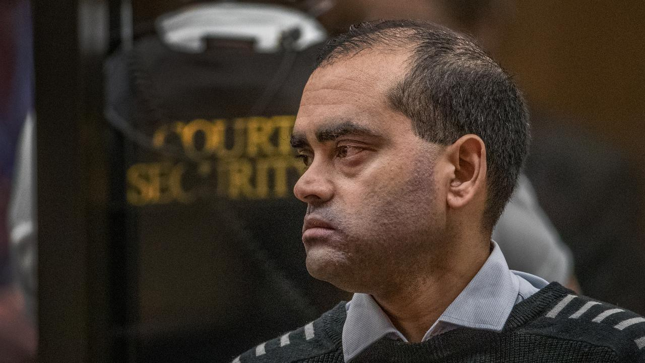 Zahid Ismail spoke about his twin brother who was killed in the massacre. Picture: John Kirk-Anderson/Pool/Getty Images