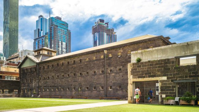 5/24Old Melbourne Gaol - Melbourne, Australia Operating from 1842 to 1929, Melbourne Gaol is perhaps best known for its most famous inmate; the bushranger Ned Kelly, who was hanged here. Its Melbourne museum today contains death masks of criminals executed here, as well as information about the prisoners.