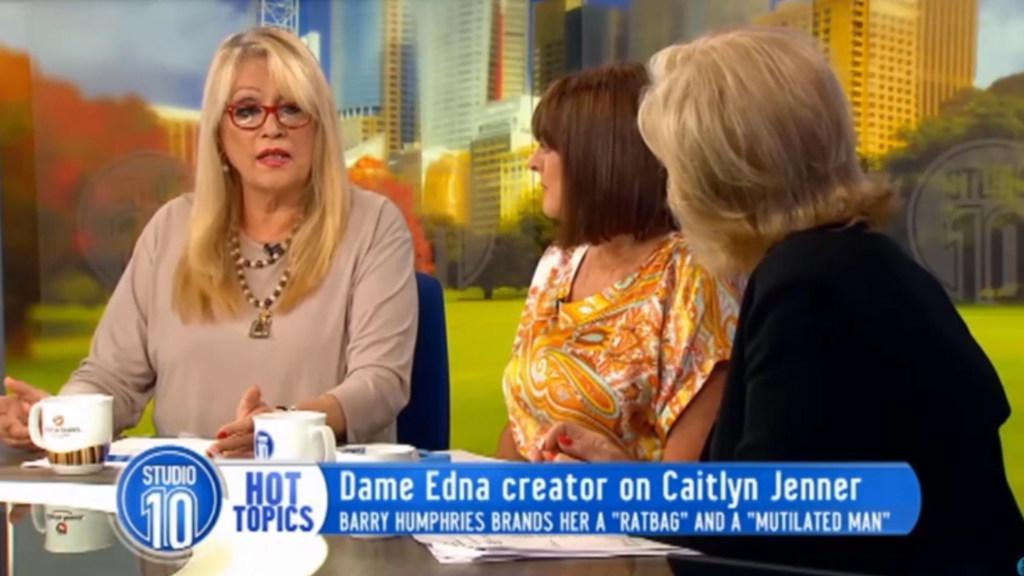 Carlotta Speaks Out on Barry Humphries' Caitlyn Jenner Comments