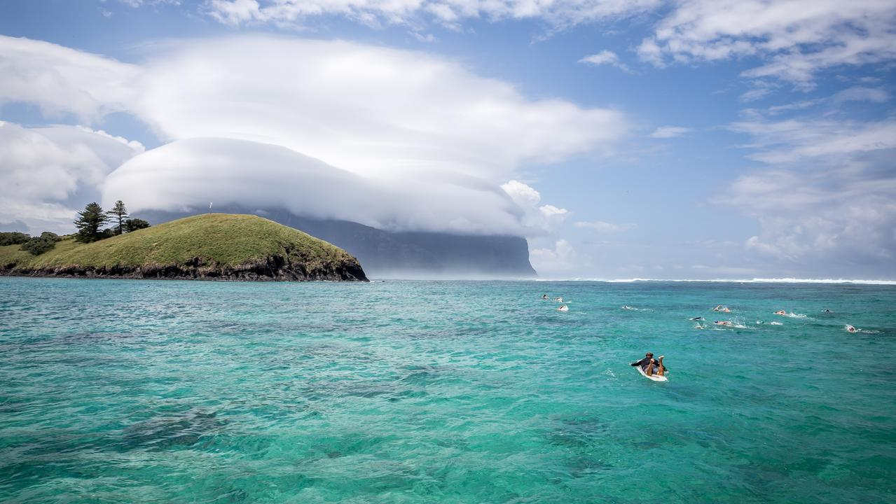 Ocean Swim Week, Lord Howe Island. Picture: supplied by Pinetrees Lodge for Sunday Escape