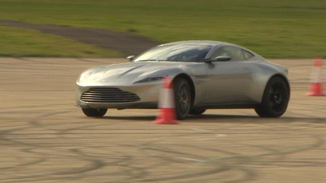 What it's like to drive a Bond car