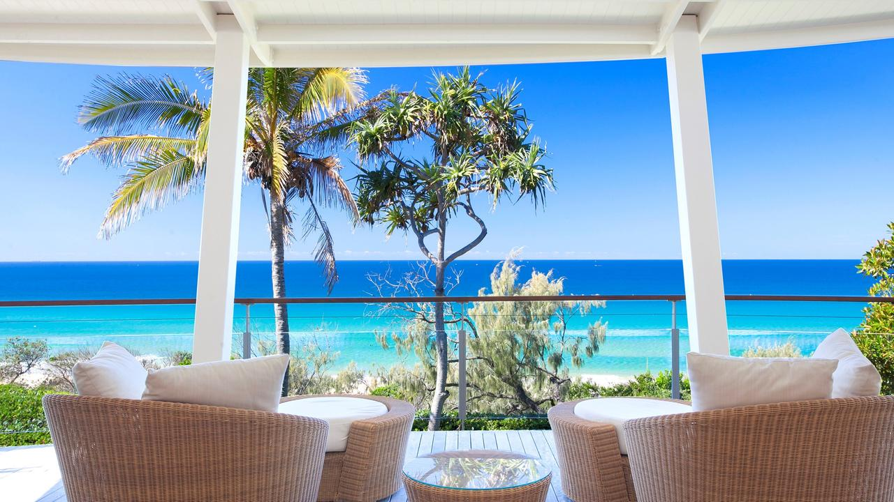 The view from the property at 2 Belmore Tce, Sunshine Beach.