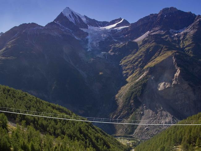 Not for the faint-hearted. Picture: Zermatt Tourism