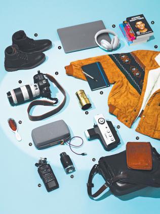 Inside My Suitcase: Jarad Seng