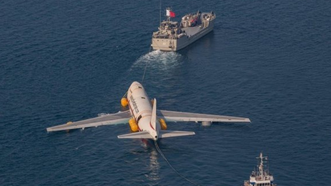 The old plane was built in 1981. Picture: Dive Bahrain
