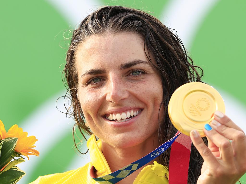 Australia's Jess Fox finally clinched that coveted gold medal.