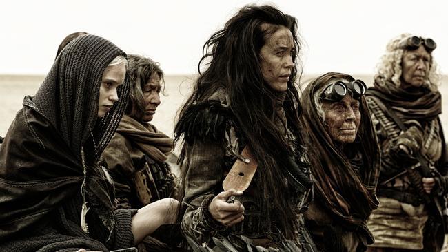 Megan Gale in Mad Max: Fury Road. From Warner Bros