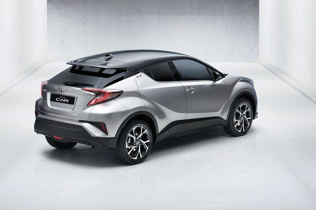 2017 Toyota CH-R small SUV. Photo: Contributed. Picture: 2017 Toyota CH-R small SUV.