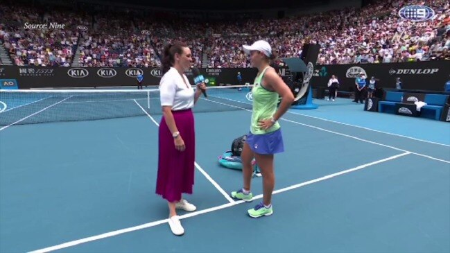 """Barty: """"This is the highlight of my day."""" (Nine)"""