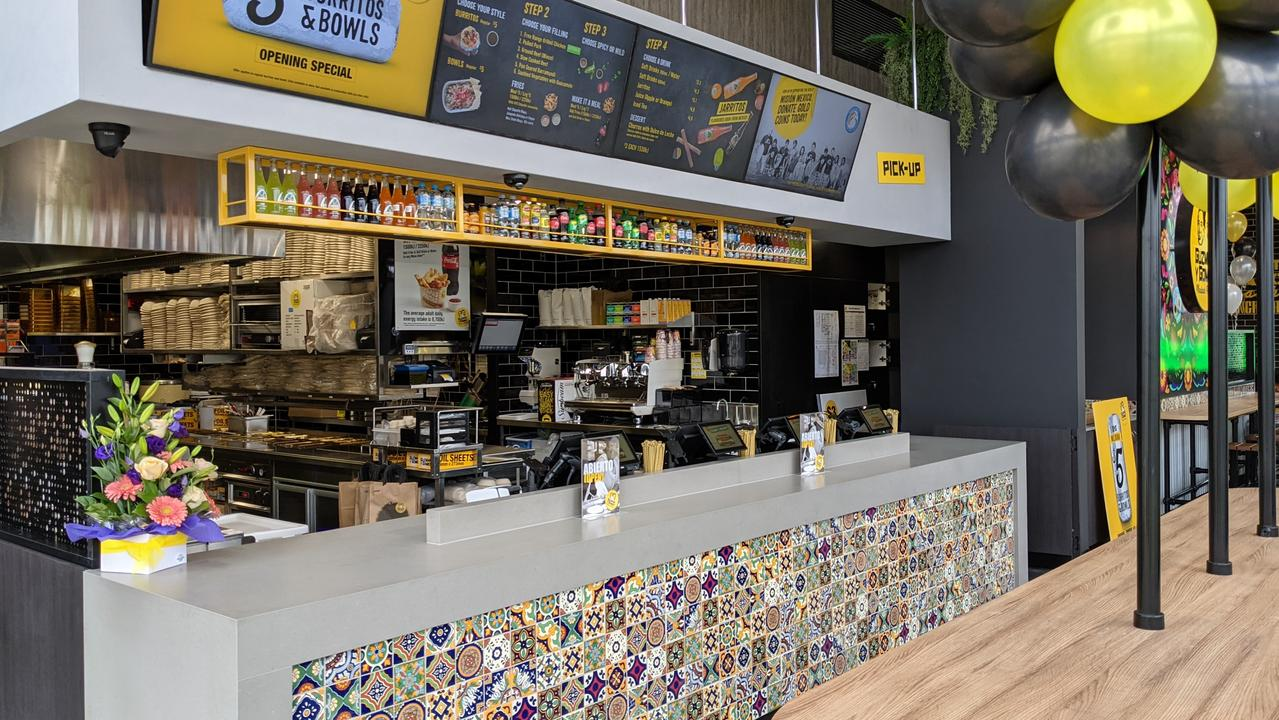 Mildura's new OTR service station and Guzman y Gomez. Picture:  Michael DiFabrizio
