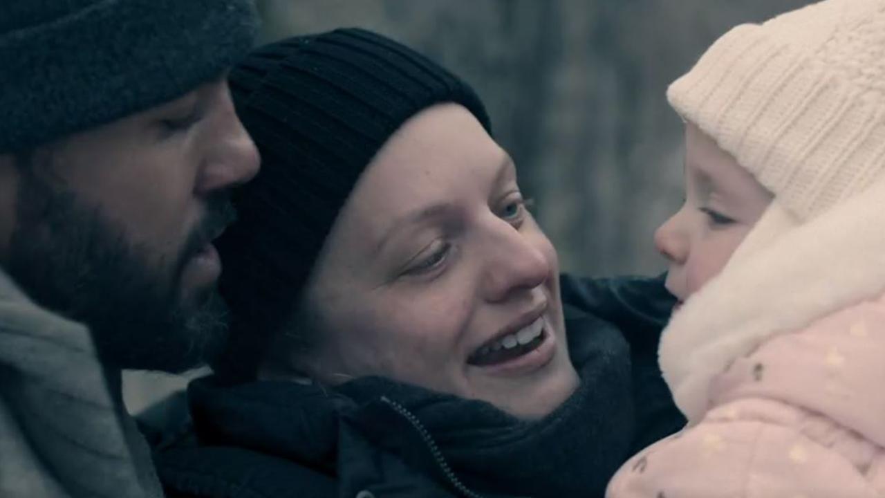 June and Luke with baby Nichole.