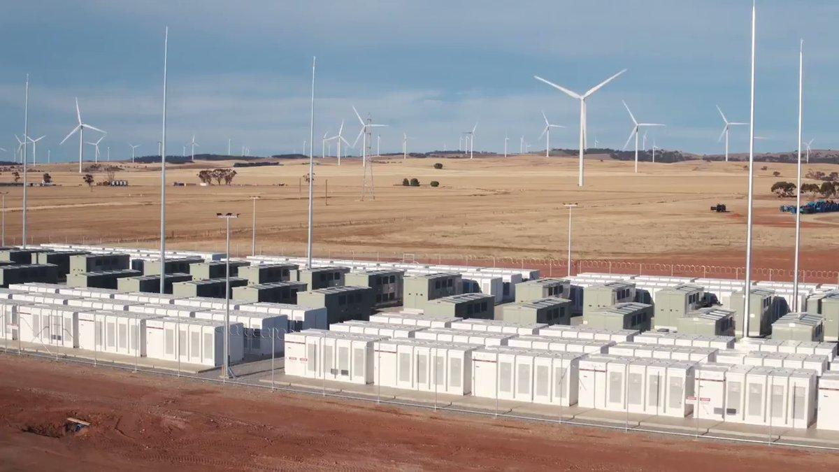 South Australia Opens World's Biggest Lithium Ion Battery. Credit - Jay Weatherill via Storyful