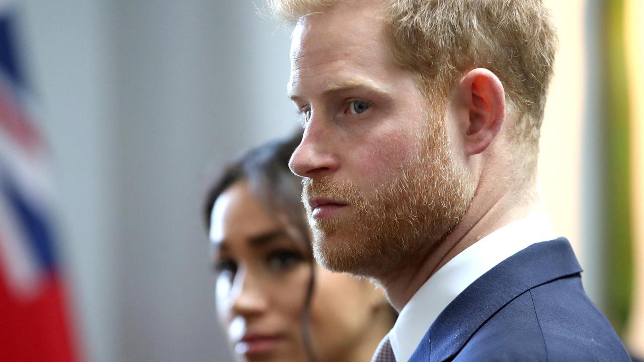 Meghan and Harry's population has plummeted in the UK. Picture: Chris Jackson/AFP