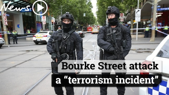 Bourke Street attack a 'terrorism incident'