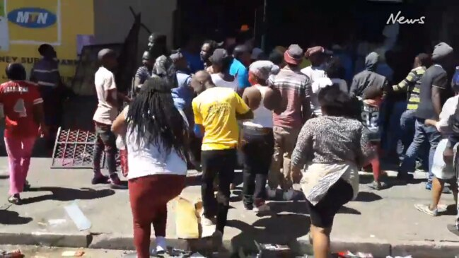 Riots and looting cripple South African cities