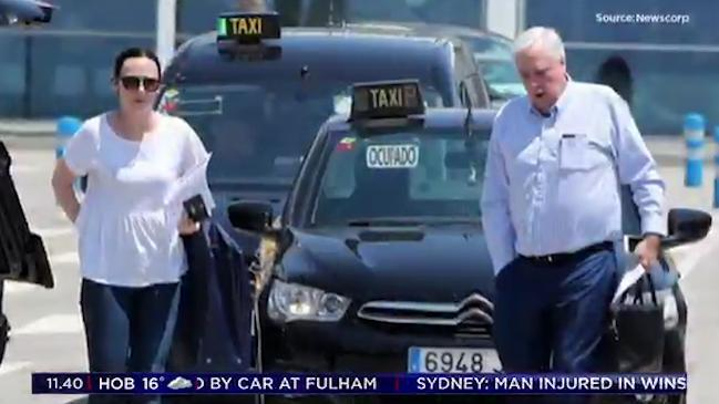 Seven News: Clive Palmer spotted on a cruise after claiming he was too sick to give evidence in court