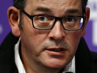 Victorian Premier Daniel Andrews speaks to the media during a press conference in Melbourne, Victoria. Picture: NCA NewsWire / Daniel Pockett