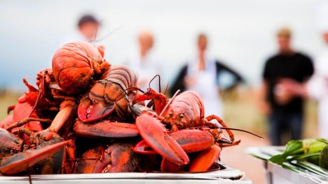There are lobsters aplenty in Canada's eastern Maritime provinces. Source: Stephen Harris.