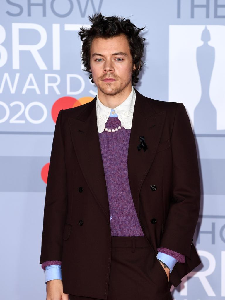 Harry Styles is 26. Picture: Gareth Cattermole/Getty Images