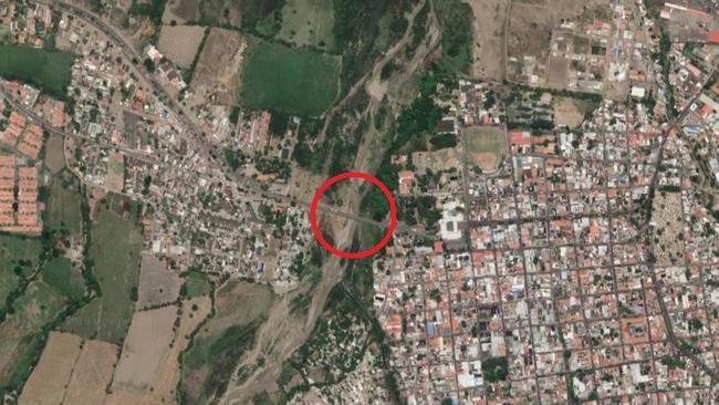 The Simón Bolívar International Bridge has become a vital crossing for refugees. Picture: Google Maps