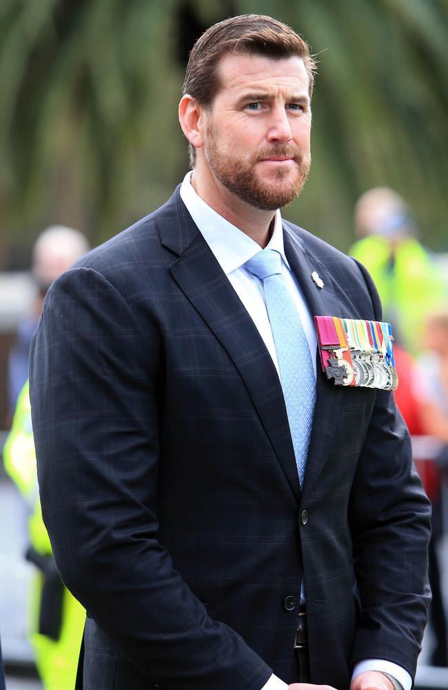 Victoria Cross recipient Ben Roberts-Smith. Picture: Aaron Francis/The Australian
