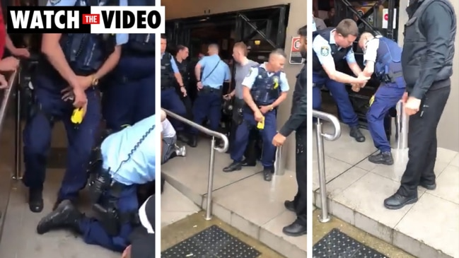 Cop's unfortunate taser run-in surfaces