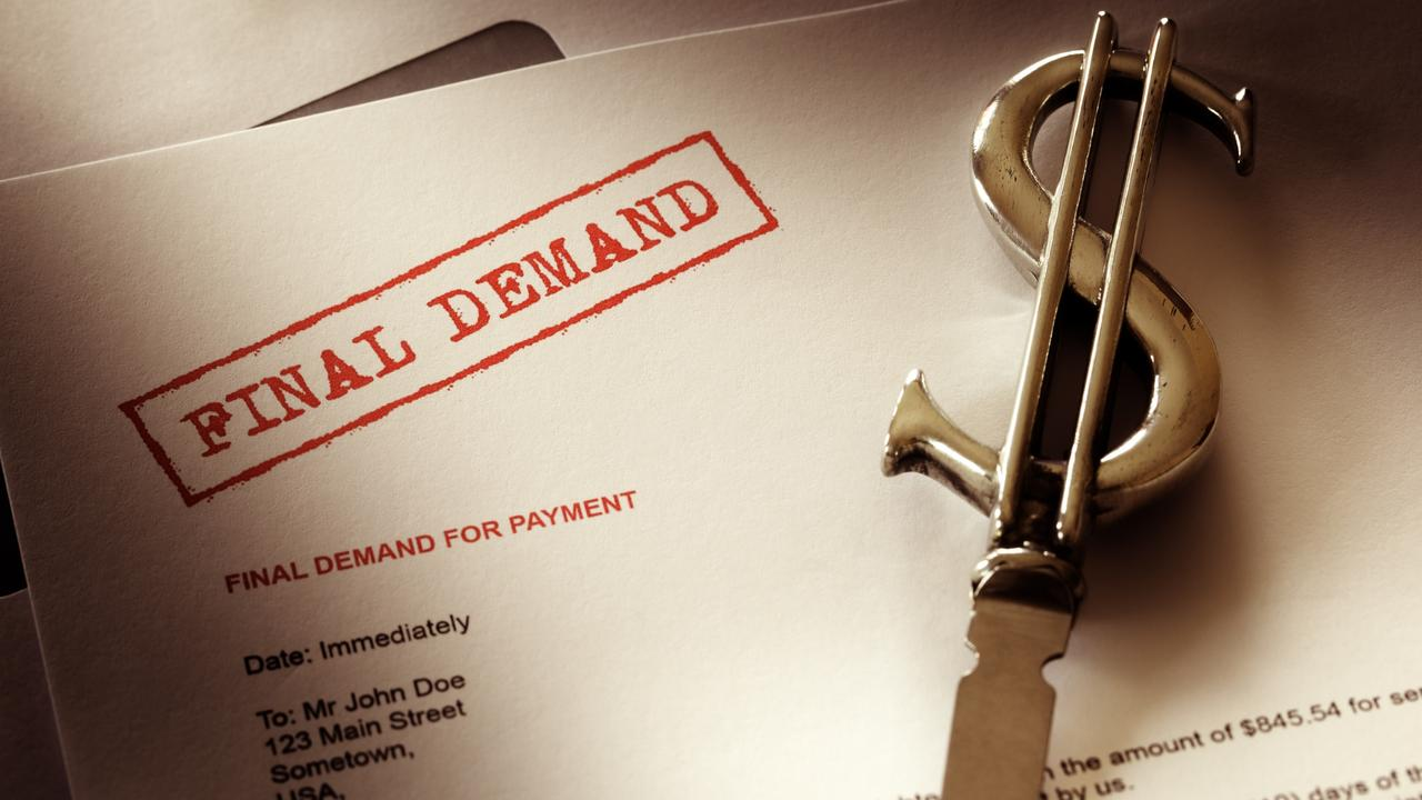 By law the lender must send you a 'default notice'. Picture: iStock
