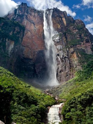 ESCAPE: WISHLIST WATERFALLS -  angel falls. Picture: Istock