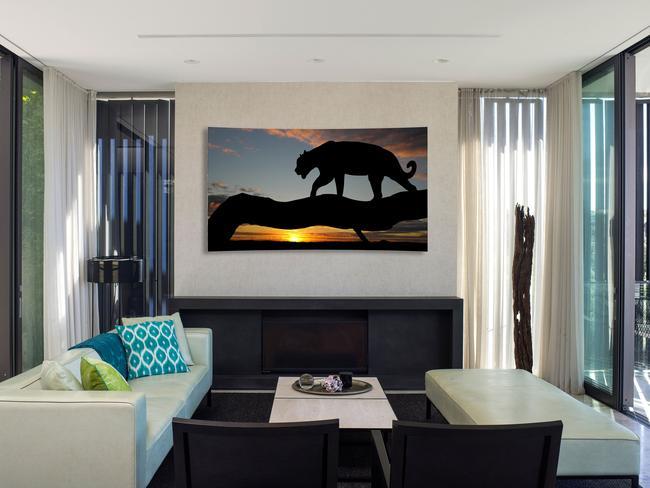 Impressive way to watch TV ... the LG 4K OLED TV.