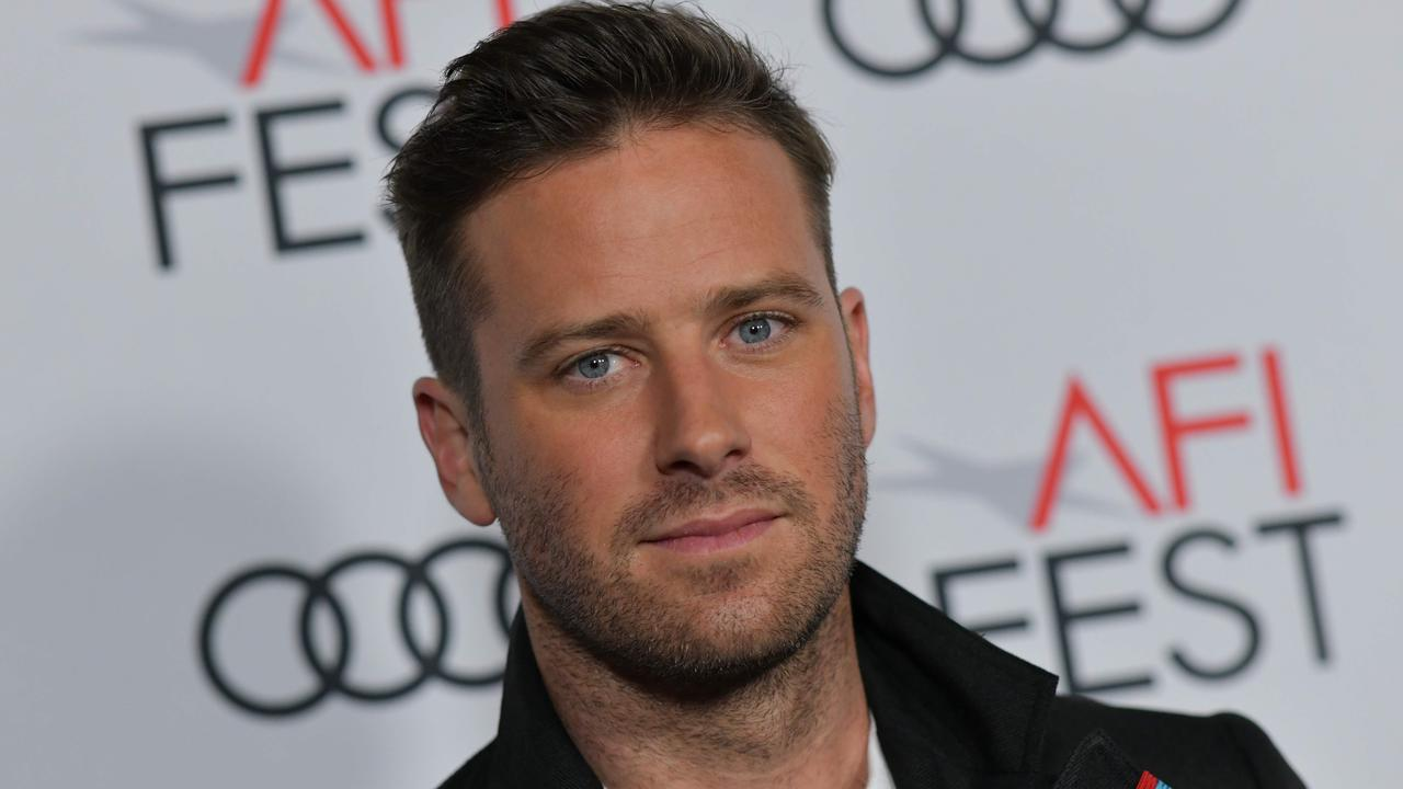 Actor Armie Hammer has issued his second public statement amid his ongoing scandal. Picture: Chris Delmas/AFP